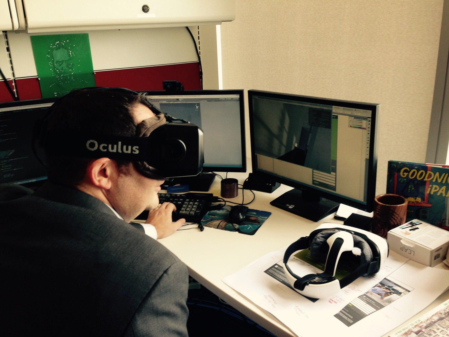 eCity Virtual Reality Demo