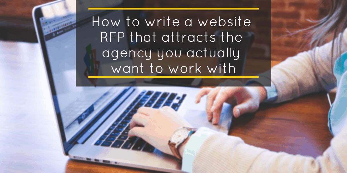 Website Redesign RFP How To Write a