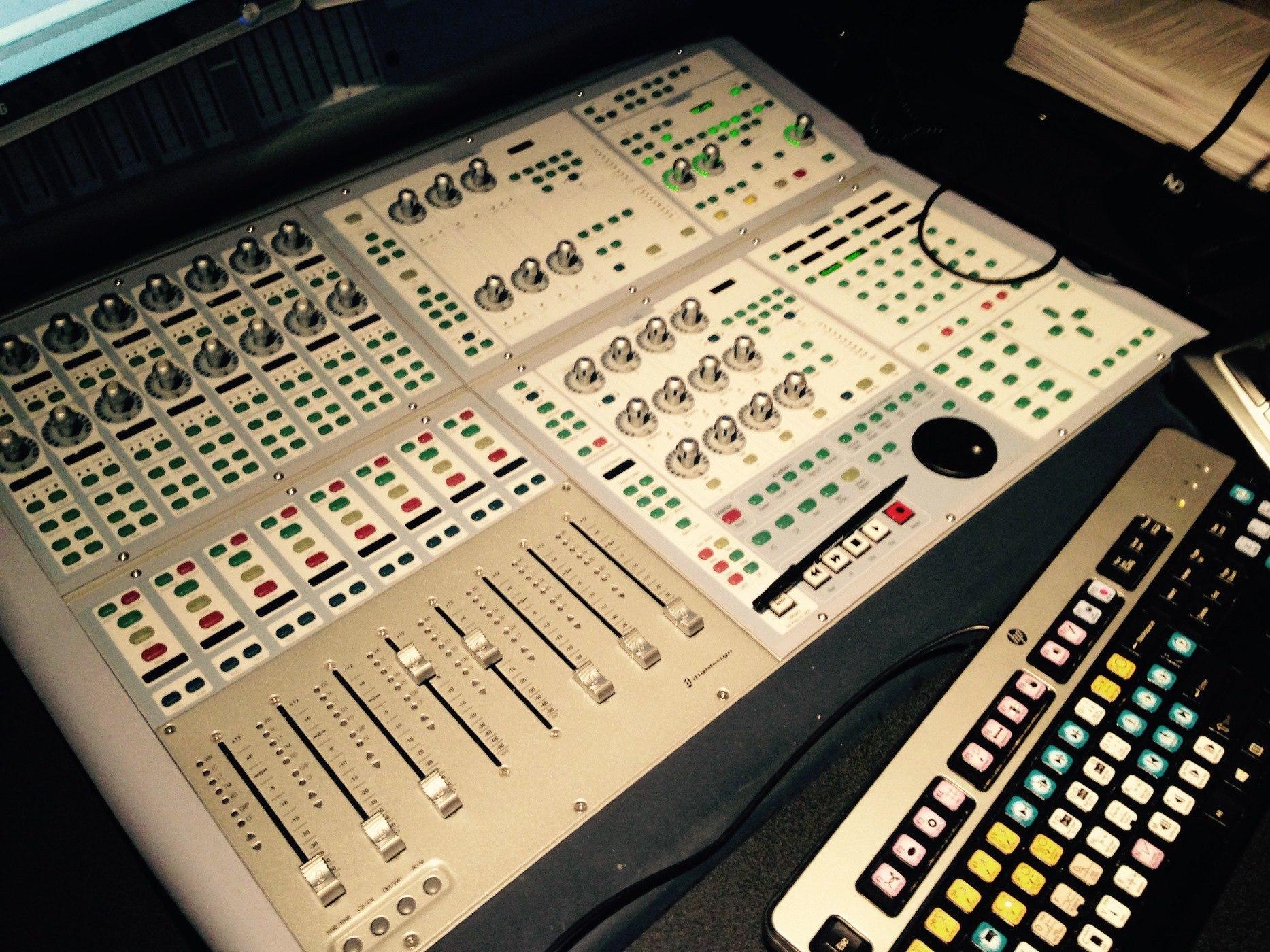 CCFV audio recording studio