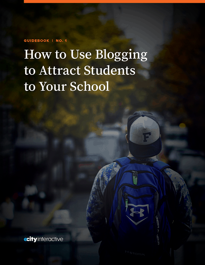 How to Use Blogging to Attract Students to Your School