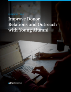 Improve Donor Relations and Outreach with Young Alumni