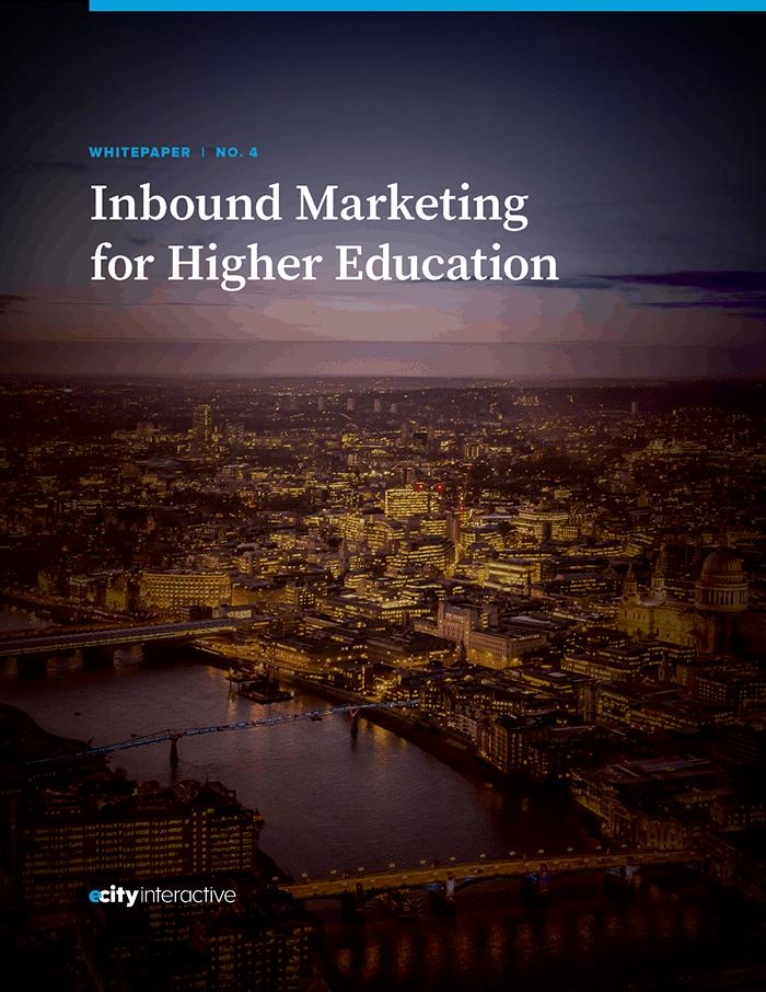 Inbound Marketing for Higher Education