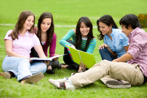 Students Researching College