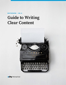 Guide to Writing Clear Content