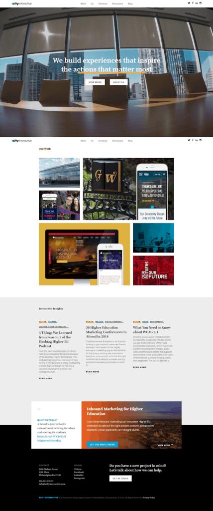 eCity Homepage