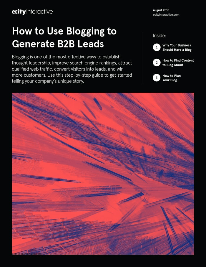 How to Use Blogging to Generate B2B Leads