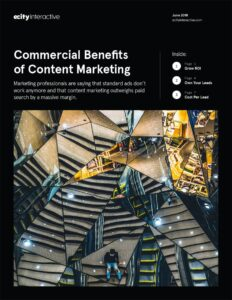 Commercial Benefits of Content Marketing