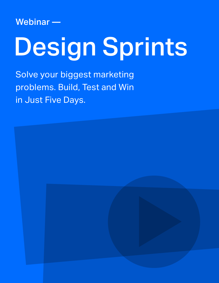 Webinar: An Introduction to Design Sprints